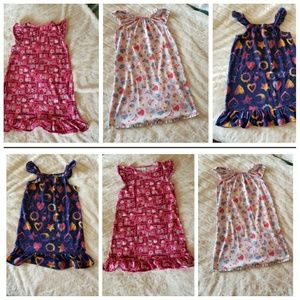 Lot of 3 GYMBOREE NIGHT GOWNS